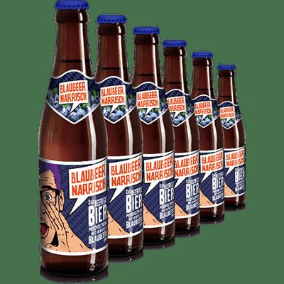 Blaubeer Narrisch - Sixpack