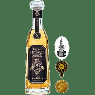 Herencia Histórico Tequila Extra Añejo - 5 Años