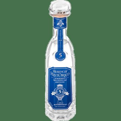 Herencia Histórico Tequila Cristalino - 5 Años