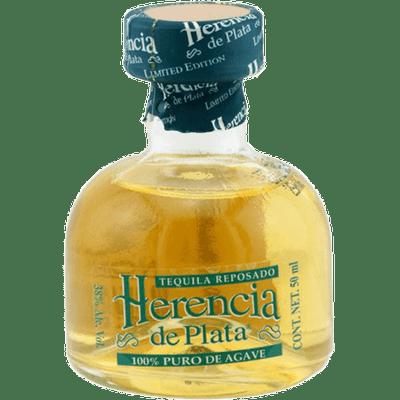 Herencia de Plata Tequila Tasting Set (Blanco + Reposado + Añejo á 0,05l)