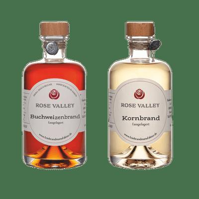 SET Rose Valley Buchweizenbrand & Kornbrand