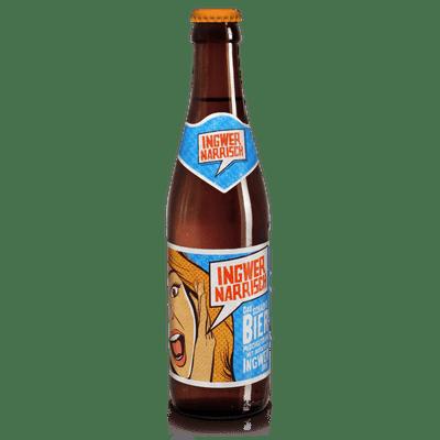 Ingwer Narrisch - Biermischgetränk aus Märzenbier und Bio-Ingwer-Sirup