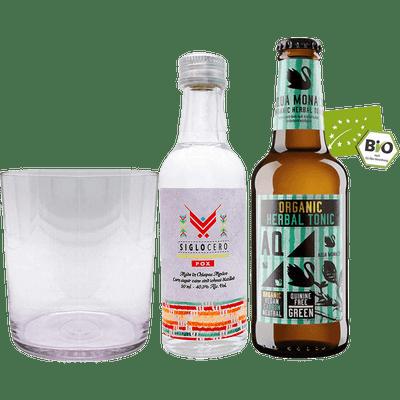 Herbal Mayan Starter Kit (1x Siglo Cero Pox 0,05 l + Monaco Herbal Organic Tonic 0,23l)