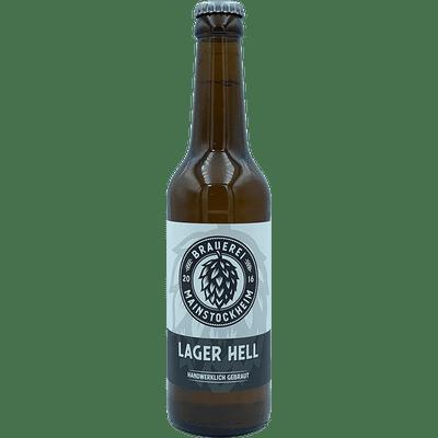Brauerei Mainstockheim Lager Hell