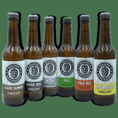 ProBier-Paket - 12x Craft Beer (6x verschiedene Biersorten)