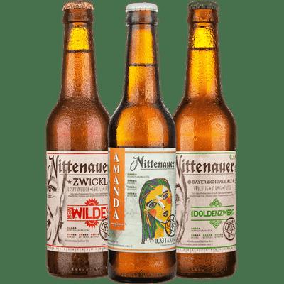 9er Craft Beer Set (3x Amanda Pils + 3x Mein Wildes Zwickel + 3x Doldenzwerg Bayerisch Pale Ale)