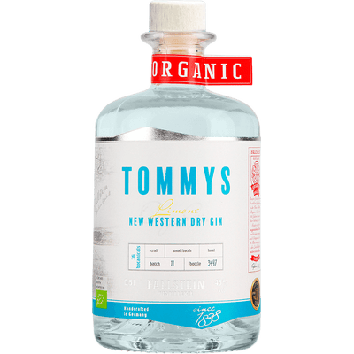 Tommys New Western Dry Gin Limone