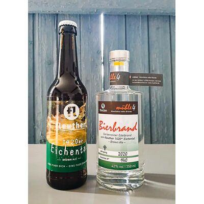 Hobbitgedeck 1420er (1x Bierbrand + 8x 1420er Eichental Hobbit Brown Ale) 2