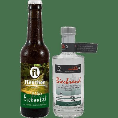 Hobbitgedeck 1420er (1x Bierbrand + 8x 1420er Eichental Hobbit Brown Ale)