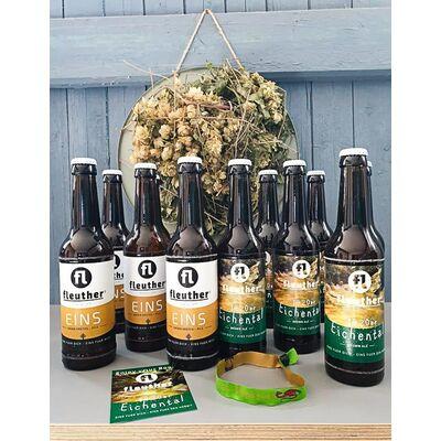 Tolkien Bundle Mixed (6x 1420er Eichental Hobbit Brown Ale + 6x Eins Pils) 2