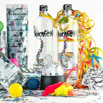 Kornfetti - Partybox (6x Weizenkorn + Party-Equipment) 4