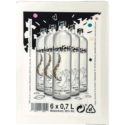 Kornfetti - Vorratspaket (6x 0,7 l) 2