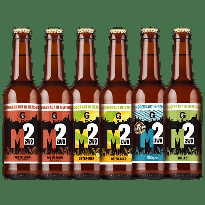 Mzwo Craft Beer Probierpaket Saisonal #1 (6x Craft Beer)