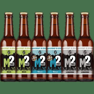 Mzwo Craft Beer Probierpaket Klassik (6x Craft Beer)