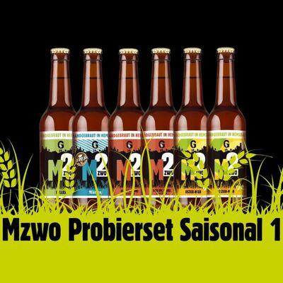 Mzwo Craft Beer Probierpaket Saisonal #1 (6x Craft Beer) 2