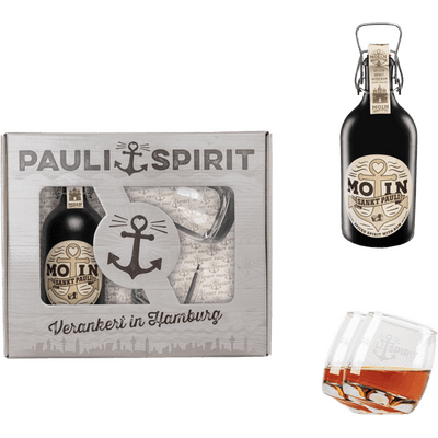 MOIN Rum (Spiced Spirit) + 6 Kugelboden Tumbler