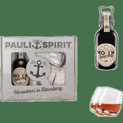Geschenkset MOIN Rum (Spiced Spirit) mit 2 Tumblern