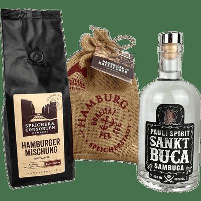 Sankt Buca Sambuca & Hamburger Kaffeesack