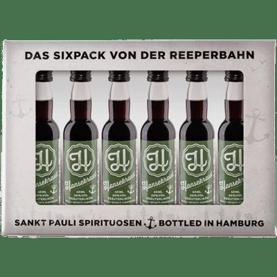 Hansekraut Lütten Sixpack im Geschenkkarton 6x 4cl