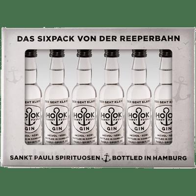 HOOK Gin Lütten Sixpack im Geschenkkarton 6x 4cl