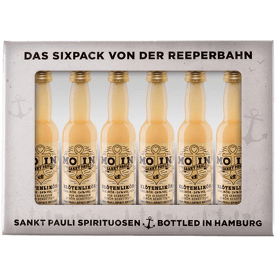 MOIN Klötenlikör Lütten Sixpack im Geschenkkarton 6x 4cl