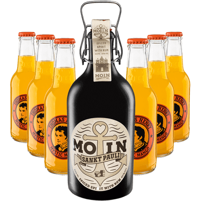"""MOIN Mische"": MOIN Rum + 6x TH Mystic Mango 200ml"