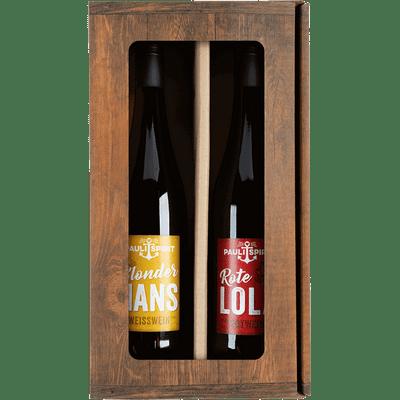 Sankt Pauli Weinpaket - Rote Lola & Blonder Hans (1x Rotwein + 1x Weißwein)