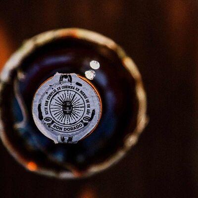 Ron Libertad Dorado - Golden Rum - 50 ml