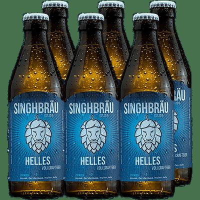 Singhbräu 6x Helles