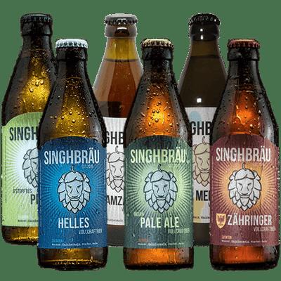 Kleine Bierprobe (6 Flaschen aus dem aktuellen Sortiment)