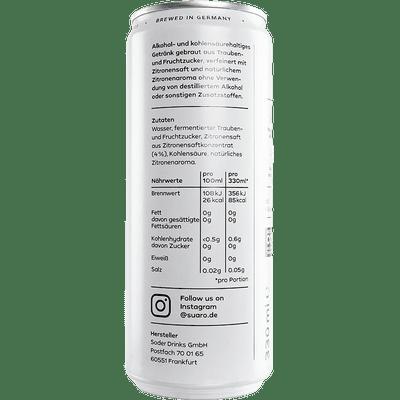 SUARO Lemon - 12x Hard Seltzer 3