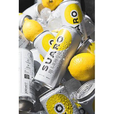 SUARO Lemon - 12x Hard Seltzer