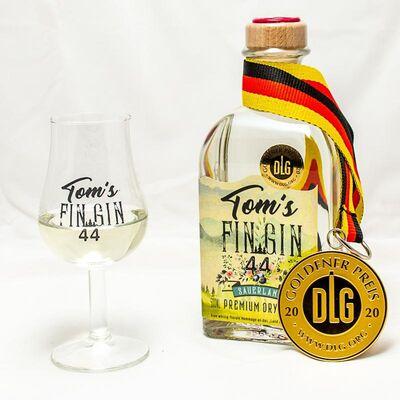Tom´s Fin Gin 44 - Premium Sauerland Dry Gin 2