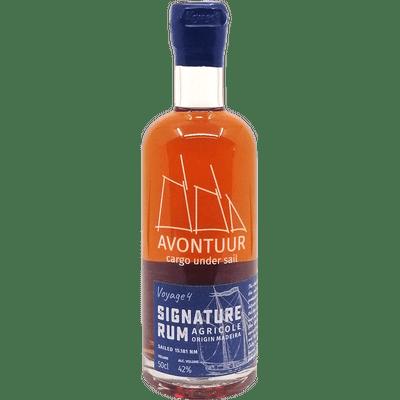 """Avontuur """"Signature Rum"""" Agricole Origin Madeira - Voyage 4"""