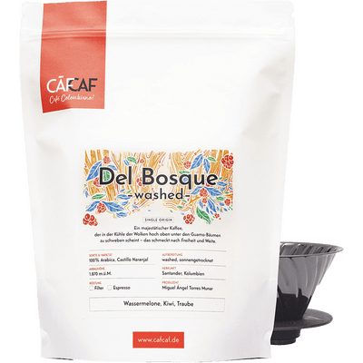 Kaffee del Bosque - washed fermentiert 1000g