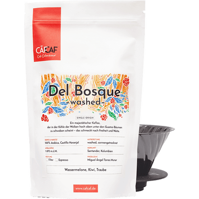 Kaffee del Bosque - washed fermentiert