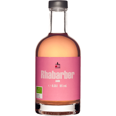 Bio Rhabarber Likör