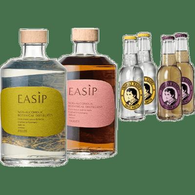 EASIP Berlin Bundle (1x Woods + 1x Fields + 2x Tonic Water + 2x Ginger Ale)