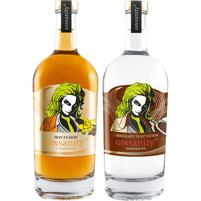 Crazy Deal: 3 for 2! - Gin Winterpaket ( Hot Fusion + Chocolate Temptation + Gin deiner Wahl)