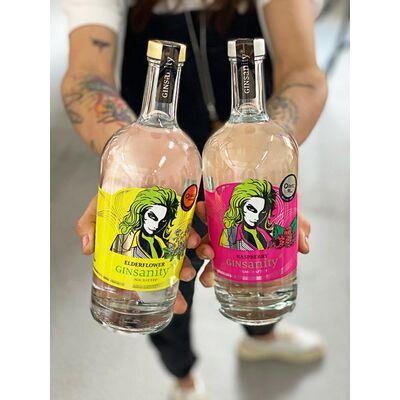 Crazy Deal: 3 for 2! - Gin Fruchtpaket ( Raspberry + Elderflower + Gin deiner Wahl)