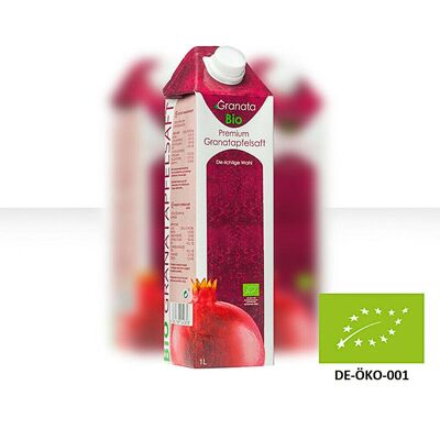 Bio Granatapfelsaft 9er Pack 2