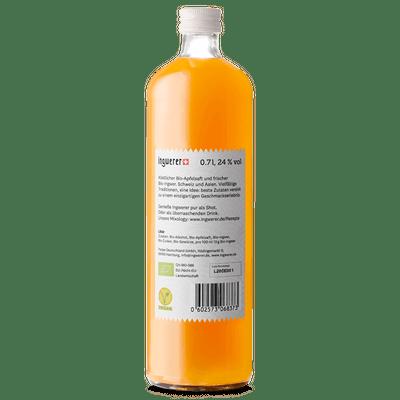 Ingwerer - Bio Likör aus Ingwer + Apfel 2