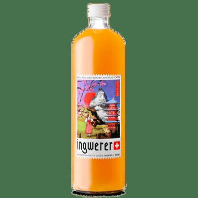 Ingwerer - Bio Likör aus Ingwer + Apfel