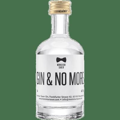 GIN & NO MORE — 50ml