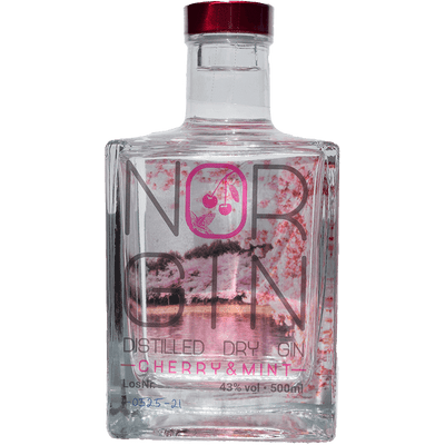 NORGIN Cherry & Mint - Distilled Dry Gin
