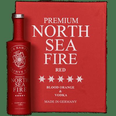 North Sea Fire - Blutorangenlikör mit Vodka 2