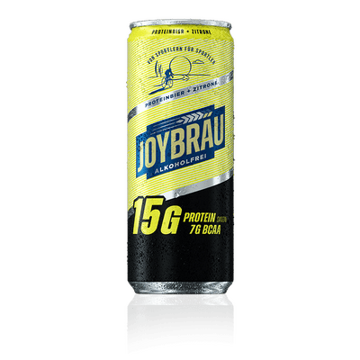 JoyBräu PROTEINBIER ZITRONE (12x0,33l) - alkoholfrei 2