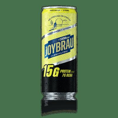 JoyBräu alkoholfrei PROTEINBIER ZITRONE in der Dose (24x0,33l) 2