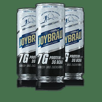 JoyBräu alkoholfrei PROTEINBIER LIGHT in der Dose (12x0,33l)