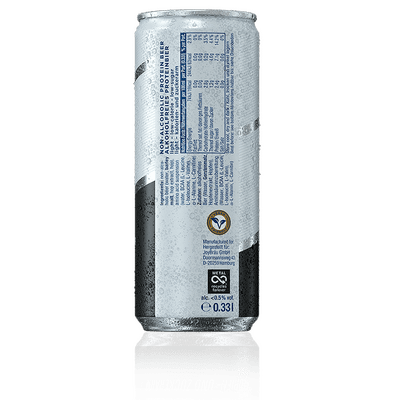 JoyBräu alkoholfrei PROTEINBIER LIGHT in der Dose (24x0,33l) 3
